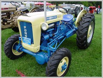 ford tractor engine serial number location