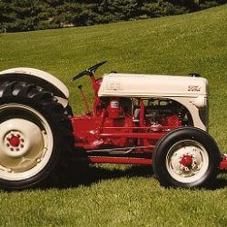 1950 8N Show Tractor - Ford Fordson Collectors Association