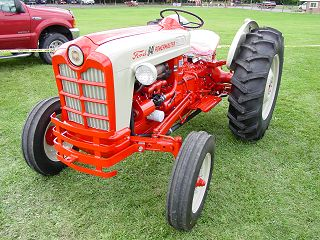 The 801 Powermaster series tractor