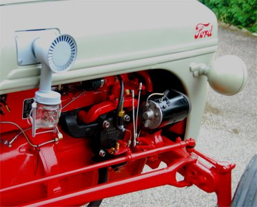 1955 ford tractor engine