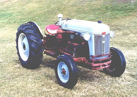 This unrestored 6 cylinder Funk conversion was one of the early kits that used the channel iron frame supports. Later models had Funk manufactured cast iron oil pans.