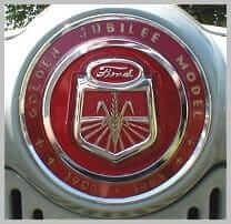 1953 NAA Jubilee hood emblem