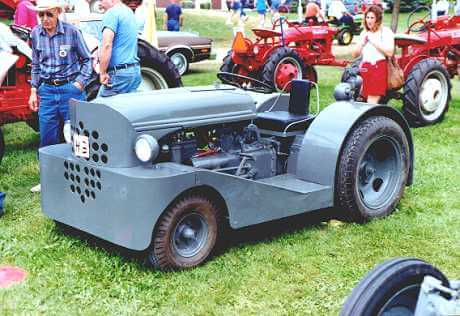 The WW2 N9 Motortug