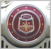 1954 NAA hood emblem