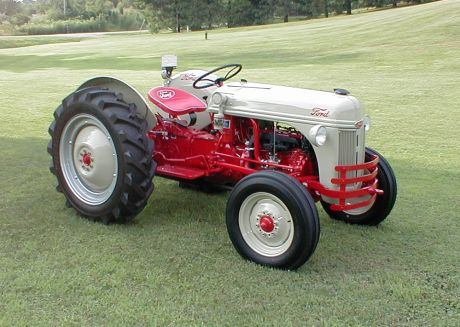 Below Are A Few Photos Of The 1950 Ford 80N Tractor.