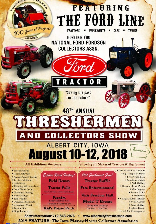 Threshermen and Collectors Show - August 2018